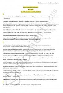 Paniere di Diritto amministrativo I - Multiple - eCampus