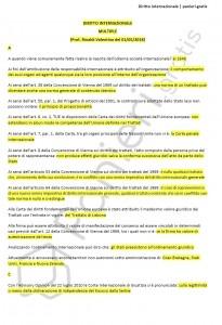 Paniere di Diritto internazionale - Multiple - Giurisprudenza - eCampus