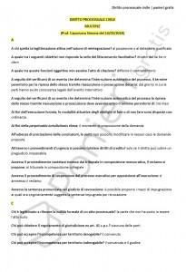 Paniere di Diritto processuale civile - Multiple - Servizi giuridici - eCampus