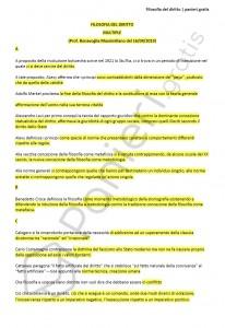 Paniere di Filosofia del diritto - Multiple - Servizi giuridici - eCampus