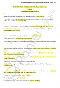 Paniere di Attività motoria preventiva, compensative e rieducativa - Multiple - eCampus