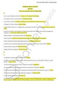 Paniere di storia del diritto italiano - Multiple - eCampus