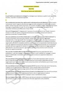 Paniere di organizzazione aziendale - Multiple - Scienze della comunicazione - eCampus