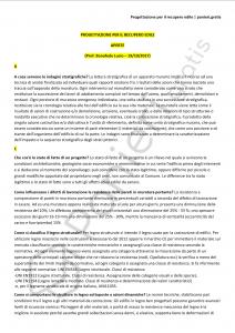 Paniere di Progettazione per il recupero edile - Aperte - Ingegneria civile - eCampus