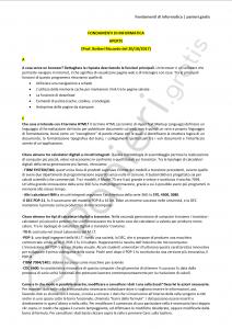Paniere di Fondamenti di informatica - Aperte - Ingegneria civile e ambientale - eCampus