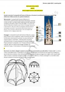 Paniere di Restauro degli edifici - Aperte - Ingegneria civile e ambientale - eCampus