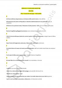 Paniere di Idraulica e costruzioni marittime - Multiple - Ingegneria civile - eCampus