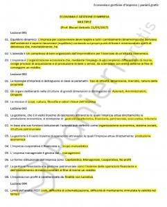 Paniere di Economia e gestione d'impresa - Multiple - Design e discipline della moda - eCampus