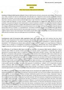 Paniere di Macroeconomia - Aperte - Economia - eCampus