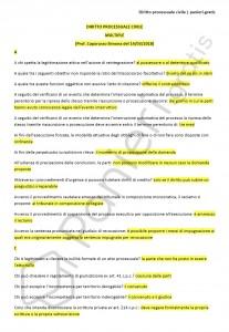 Paniere di diritto processuale civile - Multiple - Giurisprudenza - eCampus