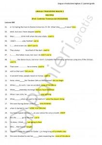 Paniere di Lingua e traduzione inglese 2 - Multiple - eCampus