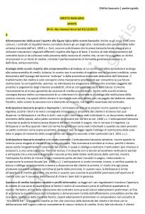 Paniere di diritto bancario - Aperte - Economia - eCampus