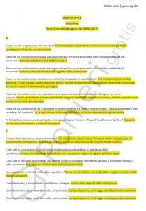 Paniere di Diritto civile - Multiple - Giurisprudenza - eCampus