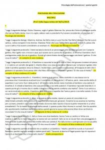 Paniere di Psicologia dell'educazione - Multiple - 24CFU - eCampus
