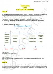 Paniere di Biochimica clinica - Aperte - Scienze biologiche - eCampus