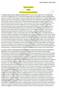 Paniere di Lingua spagnola - Aperte - Scienze politiche e sociali - eCampus
