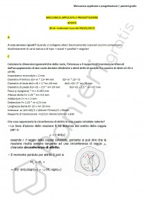Paniere di Meccanica applicata e progettazione - Aperte - Ingegneria industriale - eCampus