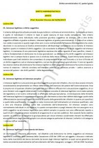 Paniere di Diritto amministrativo II - Aperte - Giurisprudenza - eCampus