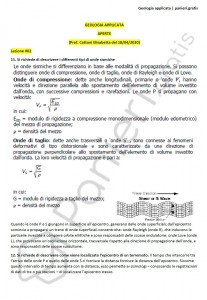 Paniere di Geologia applicata - Aperte - Ingegneria civile e ambientale - eCampus