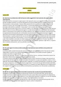 Paniere di Diritto internazionale - Aperte - Giurisprudenza - eCampus