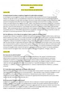 Paniere di Metodologia della ricerca sociale - Aperte - Scienze politiche - eCampus