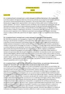 Paniere di Letteratura inglese 2 - Aperte - eCampus