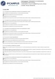 Fondamenti di ingegneria economico-gestionale - Multiple