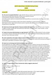Paniere di Diritto industriale e proprietà intellettuale - Aperte - eCampus