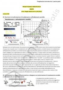 Paniere di Progettazione termotecnica - Aperte - Ingegneria industriale - eCampus