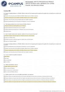 Diritto processuale penale - Multiple