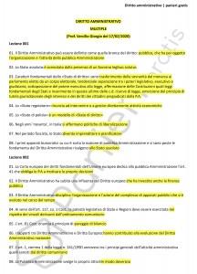 Paniere di Diritto amministrativo - Multiple - Servizi giuridici - eCampus