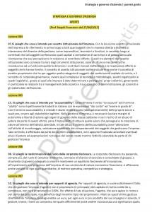 Paniere di Strategia e governo d'azienda - Aperte - Scienze dell'economia - eCampus