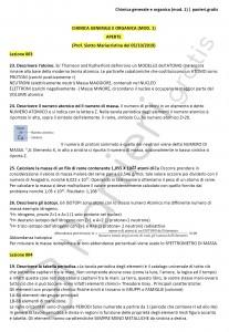 Paniere di Chimica generale e organica (mod. 1) - Aperte - Scienze biologiche - eCampus