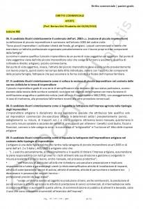 Paniere di Diritto commerciale - Aperte - Giurisprudenza - eCampus