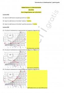Paniere di Termotecnica e climatizzazione - Multiple - Ingegneria industriale - eCampus