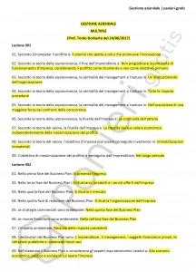 Paniere di Gestione aziendale - Multiple - Ingegneria industriale - eCampus