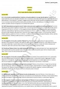 Paniere di Estetica - Aperte - Letteratura, arte, musica e spettacolo - eCampus