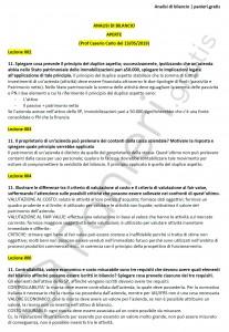 Paniere di Analisi di bilancio - Aperte - Economia - eCampus