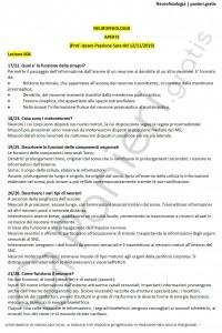 Paniere di Neurofisiologia - Aperte - Scienze e tecniche psicologiche - eCampus