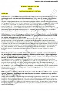 Paniere di Pedagogia generale e sociale - Aperte - Scienze dell'educazione - eCampus