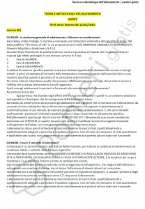 Paniere di Teoria e metodologia dell'allenamento - Aperte - eCampus