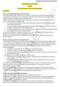 Paniere di Psicologia del ciclo di vita - Aperte - Scienze motorie - eCampus