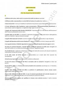 Paniere di diritto bancario - Multiple - Economia - eCampus