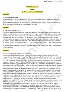 Paniere di Diritto del lavoro - Aperte - Giurisprudenza - eCampus