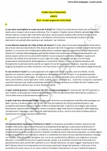Paniere di Storia della pedagogia - Aperte - Scienze dell'educazione - eCampus