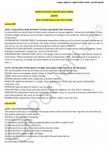 Paniere di Lingua inglese e inglese della moda - Aperte - Design e discipline della moda - eCampus