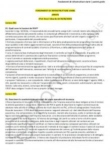 Paniere di Fondamenti di infrastrutture viarie - Aperte - Ingegneria civile - eCampus