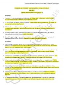 Paniere di economia delle imprese di assicurazione e della previdenza - Multiple - eCampus