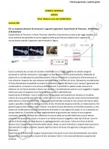 Paniere di Chimica generale - Aperte - 2021 - Ingegneria industriale