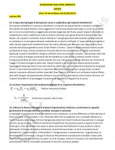 Paniere di Interazione macchine ambiente - Aperte - Ingegneria industriale